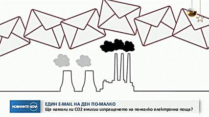 Как ненужните имейли замърсяват околната среда