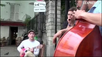 Zaz - Je Veux (street music)