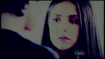 Деймън и Елена - Дневниците на вампира!!!