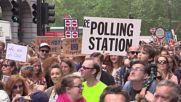 Великобритания: Десетки хиляди излязоха срещу Брекзит в Лондон