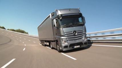 Система за сигурност в камионите на Mercedes !!!