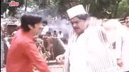 Kadar Khan as Parsi Bawa, Baap Numbri Beta Dus Numbri - Comedy Scene 10