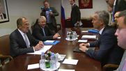 United Nations: Lavrov meets with NATO GenSec Stoltenberg