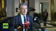 "Austria: British Foreign Minister says Syria talks have been ""productive"""