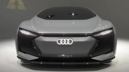 Audi разкри най-луксозният авто-пилот модел