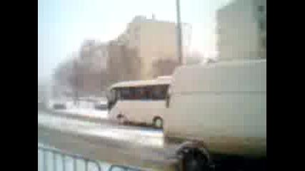 зимата пред Пг Мет Пазарджик