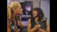 Laycool показват нoвата си титла на Teddy Long и тя изглежда доста Flawless! ( Smackdown 6/8/2010 )