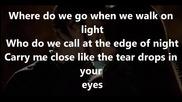 The vampire diaries- Reign-don't let me go lyrics