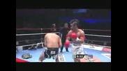 Gokhan Saki vs Keijiro Maeda. ( K - 1 Worldgp Yokohama 2009 ) part 2/2