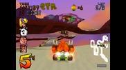 Crash Team Racing - Area Citadel City - Hot Air Skyway - Yellow Ctr Token