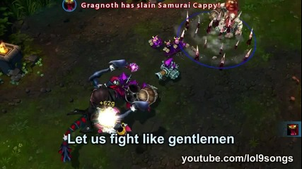 Plentakill - Gentleman ( Psy - Gentleman Lol Parody )