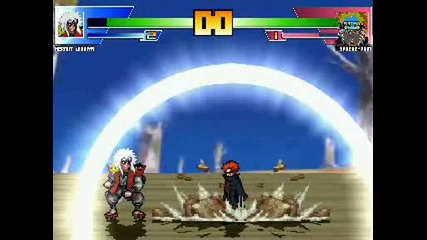Sage Jiraiya Vs Pein,  one hell of a battle.
