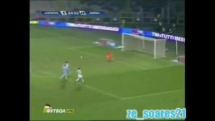 Ювентус - Наполи 3:0 всички голове
