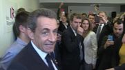 France: Protesters rail at Sarkozy as former pres. opens new Republican HQ in Lille