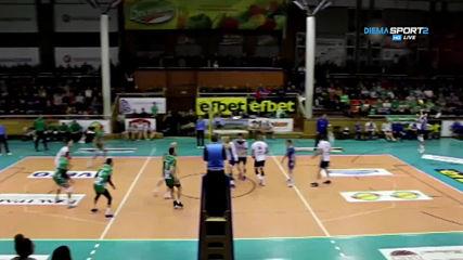 Какво се случи в 16-ия кръг в Суперлигата по волейбол?