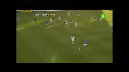 Кристияно Роналдо с първи мач за Реал мадрид ! стил на преките свободни