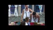 Кирил нарежда Кристиян след номинациите му - Big Brother 2015 (18.08.2015)
