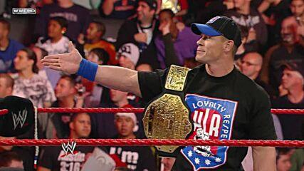 John Cena & Trish Stratus vs. Glamarella – Mixed Tag Team Match: Raw, Dec. 22, 2008 (Full Match)