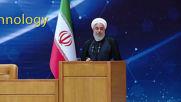 Iran: Tehran unveils nuclear achievements as Rouhani slams US's terror label