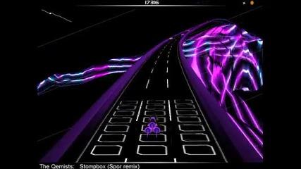 Аз играя Audiosurf - The Qemists - Stompbox