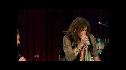 steven tyler and jimmy fallon: walk this way live