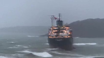 UK: Russian cargo ship runs aground off Falmouth