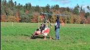Невероятно хеликоптер задвижван от ракета