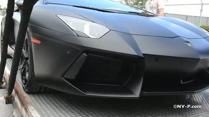 Lamborghini Aventador - Един голям звяр !