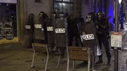 Spain: Police face massive crowds of protesters in Barcelona