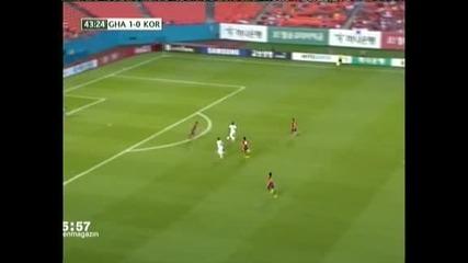 Гана разби с 4:0 Южна Корея в Маями