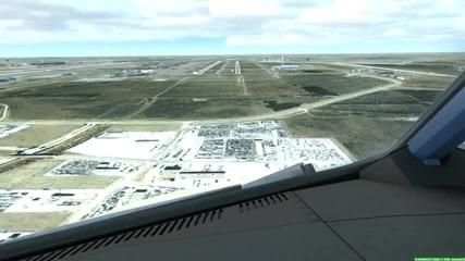 Fsx Landing in Dallas!