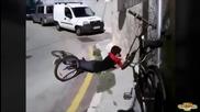 Най-добрите провали с велосипед - Monthlyfails