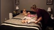 Как се справя многодетна майка с малките си деца още от сутринта
