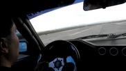 E30 M50 turbo vs Evo X