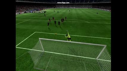 Fifa 11 Super Gol s Xavi ot Freekick