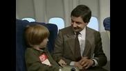 Мистър Бийн в самолета