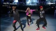 Kai , Hyoyeon & Lay разцепват дансинга ! @ Dancing 9