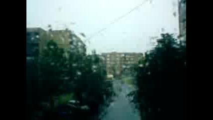 Голям Дъжд В Казанлък!!!