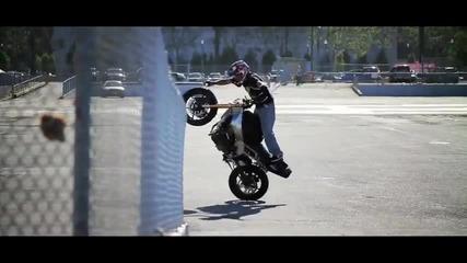 Stunt Riding Life Motorbike - World Training - Jorian Ponomareff -