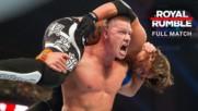 AJ Styles vs. John Cena - WWE Title Match: Royal Rumble 2017 (Full match - WWE Network Exclusive)