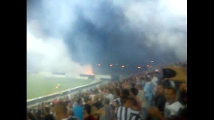 Невероятните Фенове на Локомотив Пловдив срещу Берое