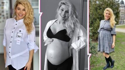 Обратно броене: Ева Веселинова за бременността, развитието на близнаците и как общува с тях