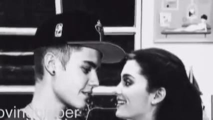 Не искам да живея в свят без теб ... [ Justin & Ariana ]