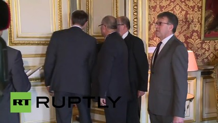 France: Lavrov and Fabius meet prior to Ukraine meeting