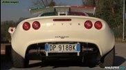 Supercharged Lotus Exige custom еxhaust