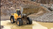 Volvo L220f In A Quarry