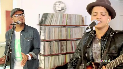 Bruno Mars - 'grenade' (studio Session) Live!!!