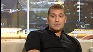 Стилиян Петров с Роби Фаулър за благотворителния мач