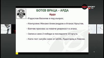 Преди Ботев Вр - Арда