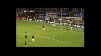Серия А - Сиена 1:2 Милан